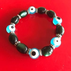 Gorgeous Evil Eye Strech Bracelet
